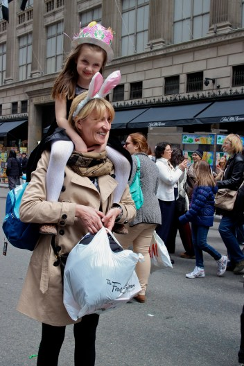 Seen at the Easter Day Parade on Park Avenue.