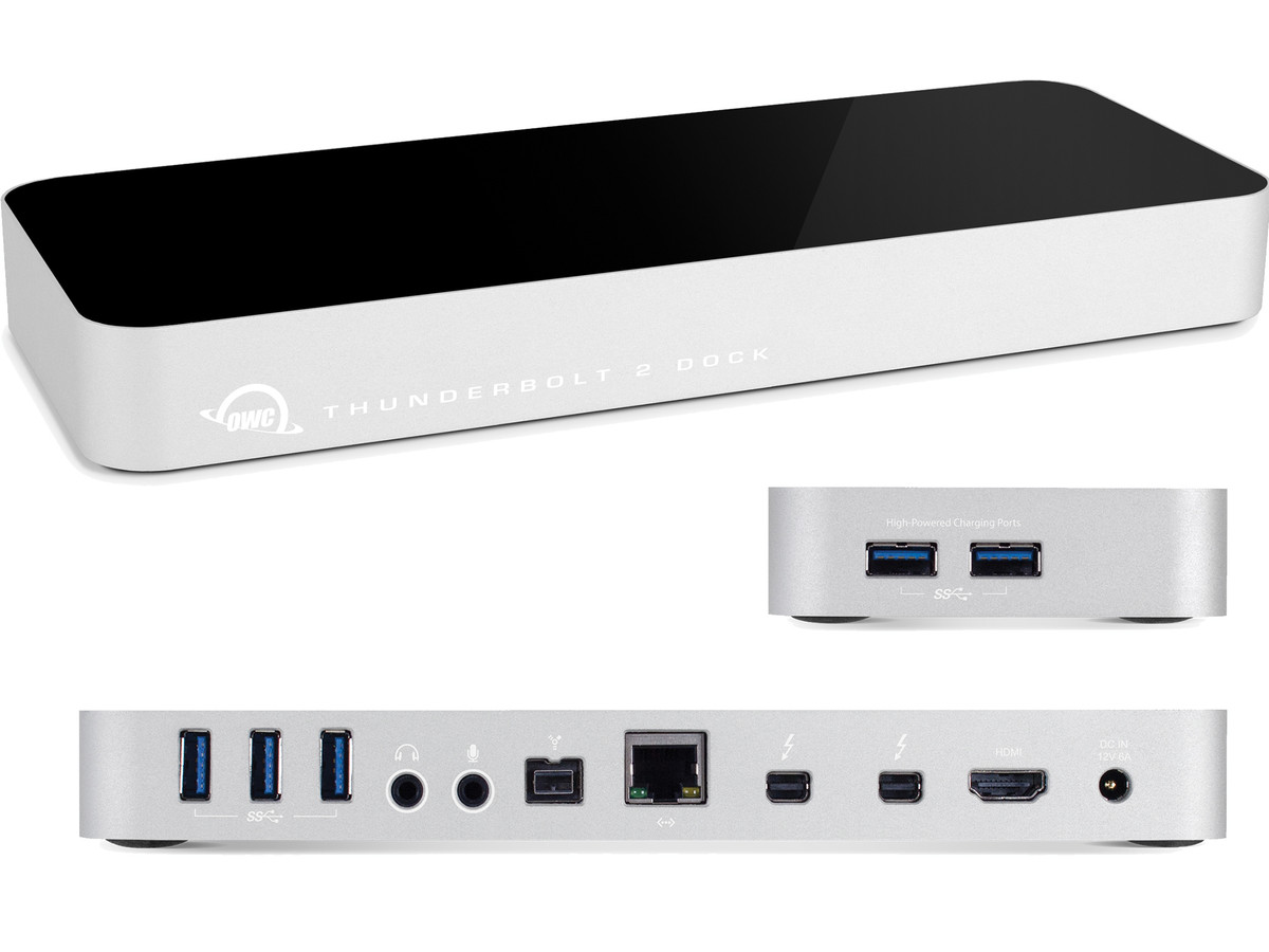 Best Thunderbolt 2 dock for audio production