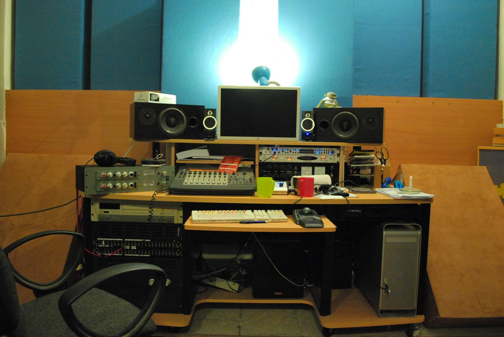 home recording studio desk