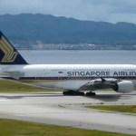 シンガポール航空・年末年始の関空路線は全てエアバスA380型機で運航