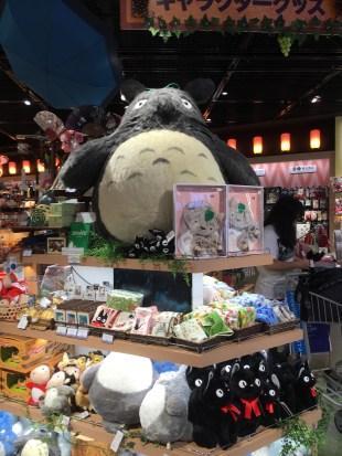 Totoro and Ghibli merchandise