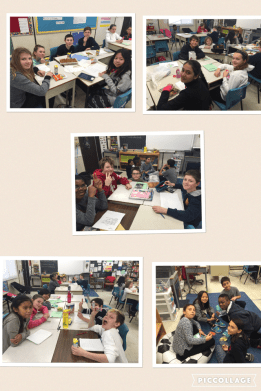 Literature circles final discussion- with snacks!