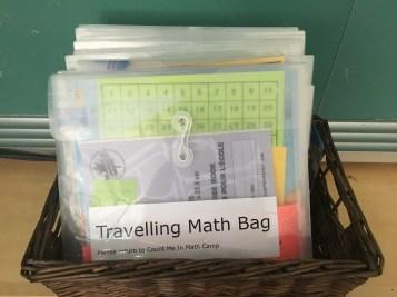 Travelling math bag