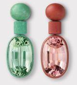 Hemmerle Beryl Morganite earrings
