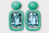 Hemmerle Aquamarine earrings.