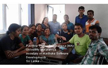 Secretary of Madhuka software Developments Sri Lanka .