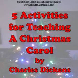 Activities for A Christmas Carol