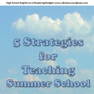 Teaching Summer School