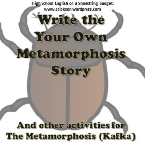 Activities for Metamorphosis f Kafka 3
