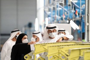 الصناعة الإماراتية صامدة وتتكيف مع الظرف الاستثنائي الدولي