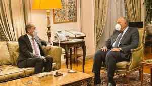"""تأكيد مصري أردني على ضرورة وقف التدخلات الخارجية """"الهدامة"""""""