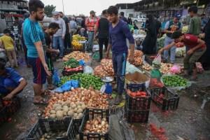 اتساع قلق الأسر العراقية من اختفاء المواد التموينية