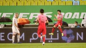 خسر المنتخب اللبناني أمام مضيفه الكوري الجنوبي (0-1)