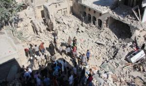 # سوريا : قصف على #حلب وقتلى للنظام بريف #درعا