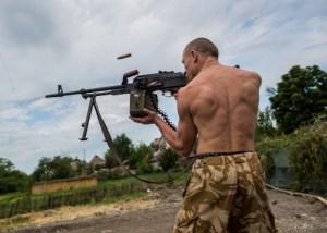 توقف الاشتباكات شرق #اوكرانيا بعد معارك وقعت عشية الانتخابات الرئاسية