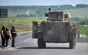 حرس الحدود #الاوكراني يؤكد عملية انسحاب القوات #الروسية عن الحدود