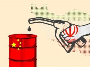 إيران تشحن كميات نفط قياسية إلى الصين سرا