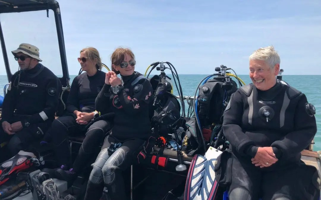 Historic England fund new project to support diving volunteers