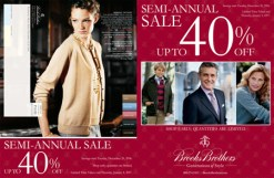 Brooks Brothers Semi Annual Sale Cover