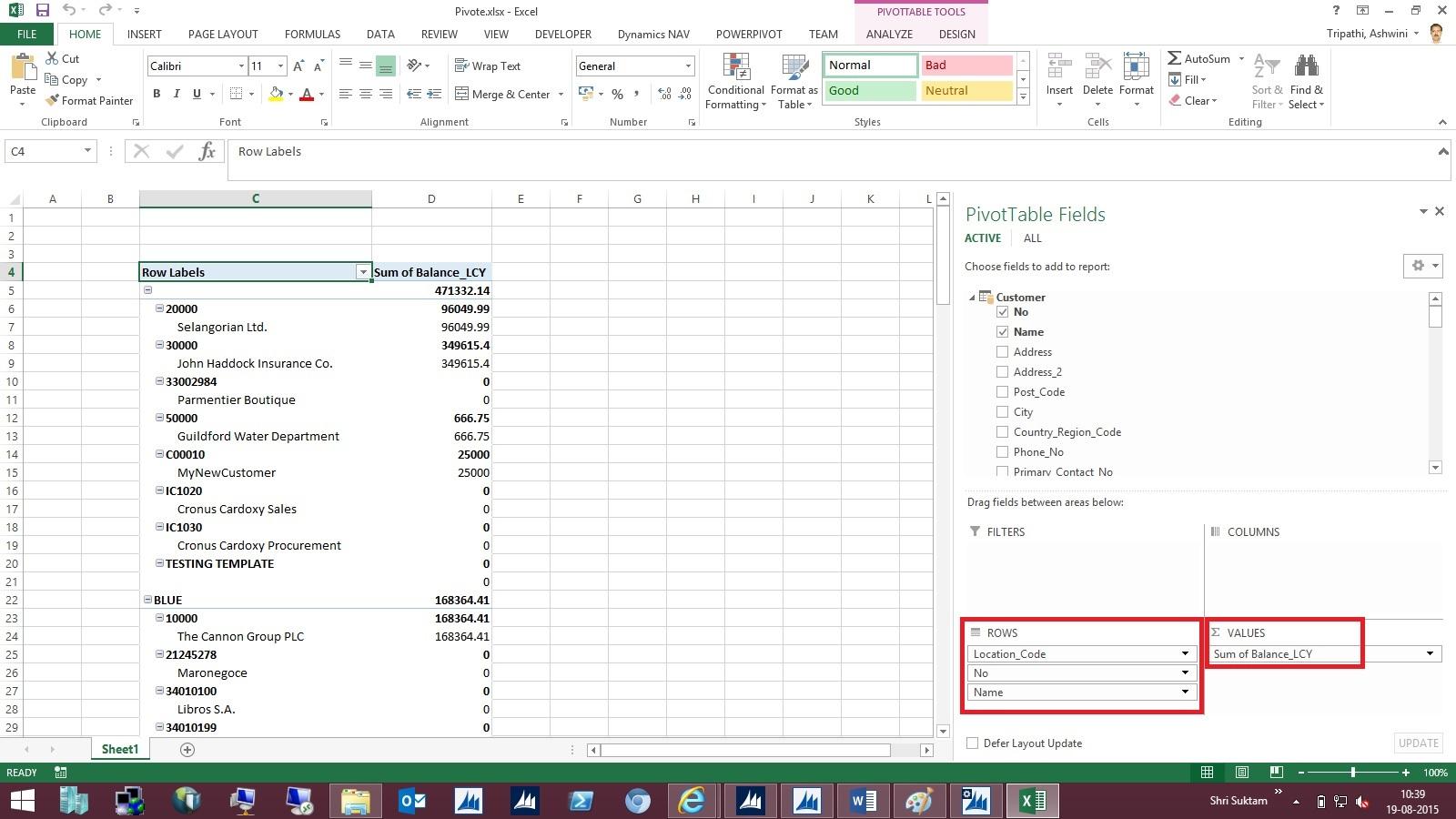 Dynamics Nav Tips From Ashwini Tripathi Viewing Page Data