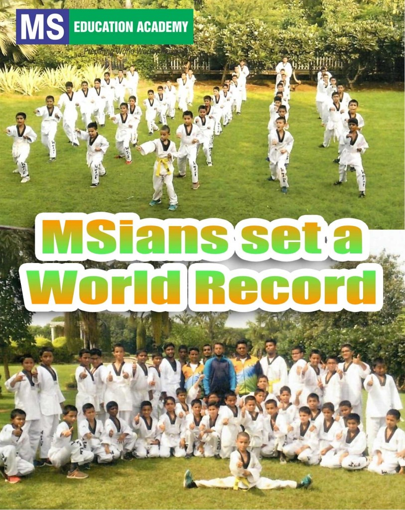 MSians set a world record