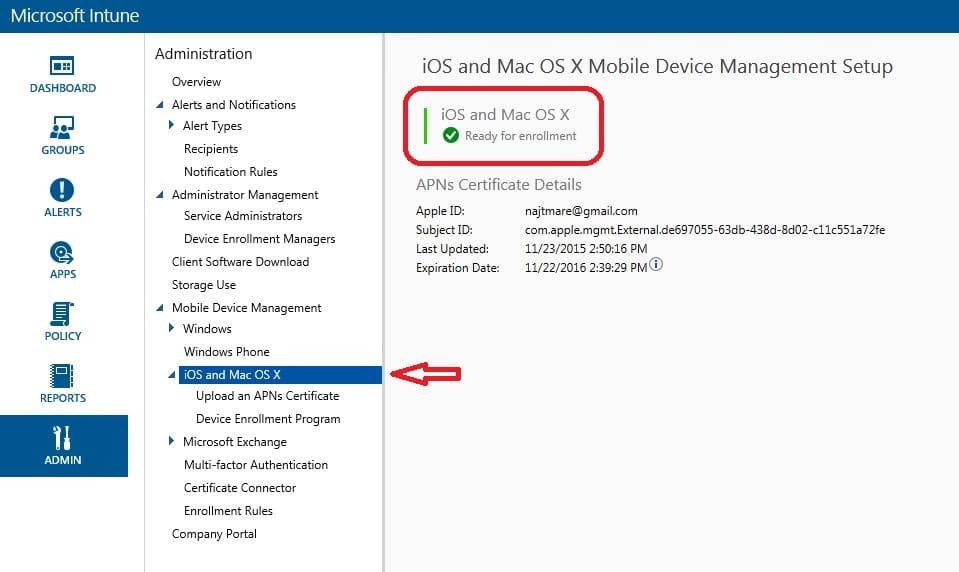 Wenn sie sie nicht sehen können, wurde die. How To Enroll An Os X Device In Microsoft Intune Msendpointmgr