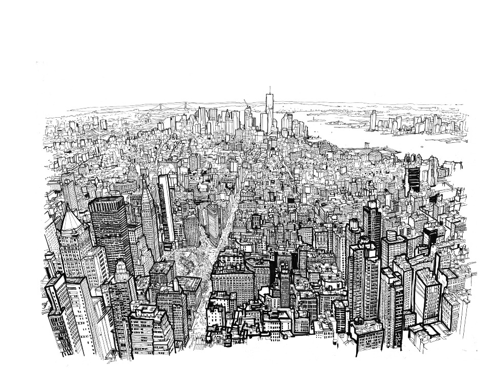 Depuis L Empire State Building Empire State Of Pen Manga Sans