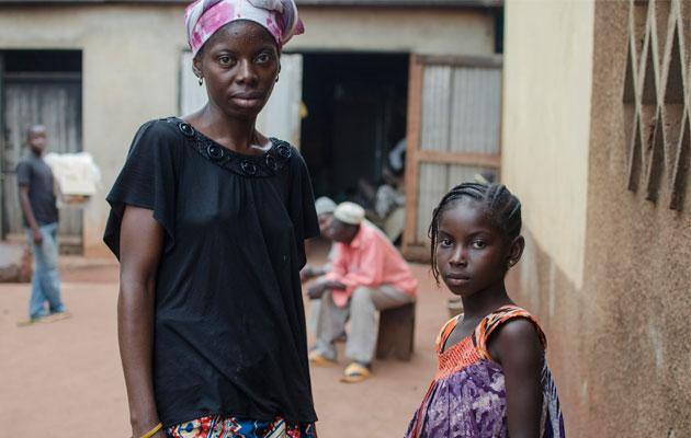 Abiba mistede sin tre år gamle datter i konflikten i Den Centralafrikanske Republik