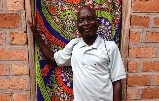 Jean-Piérre er hiv-patient i Zemio i Den Centralafrikanske Republik