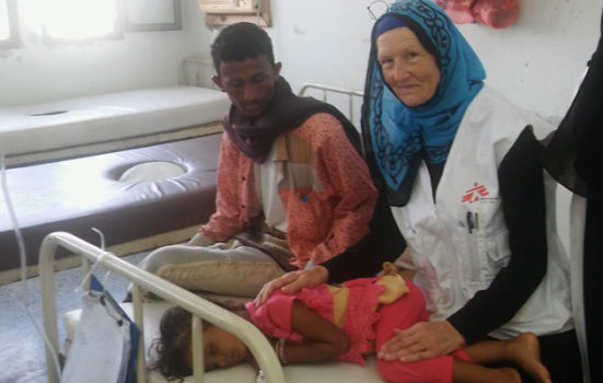 Anni Fjord var udsendt som sygeplejerske for Læger uden Grænser under kolera-epidemien i Yemen.