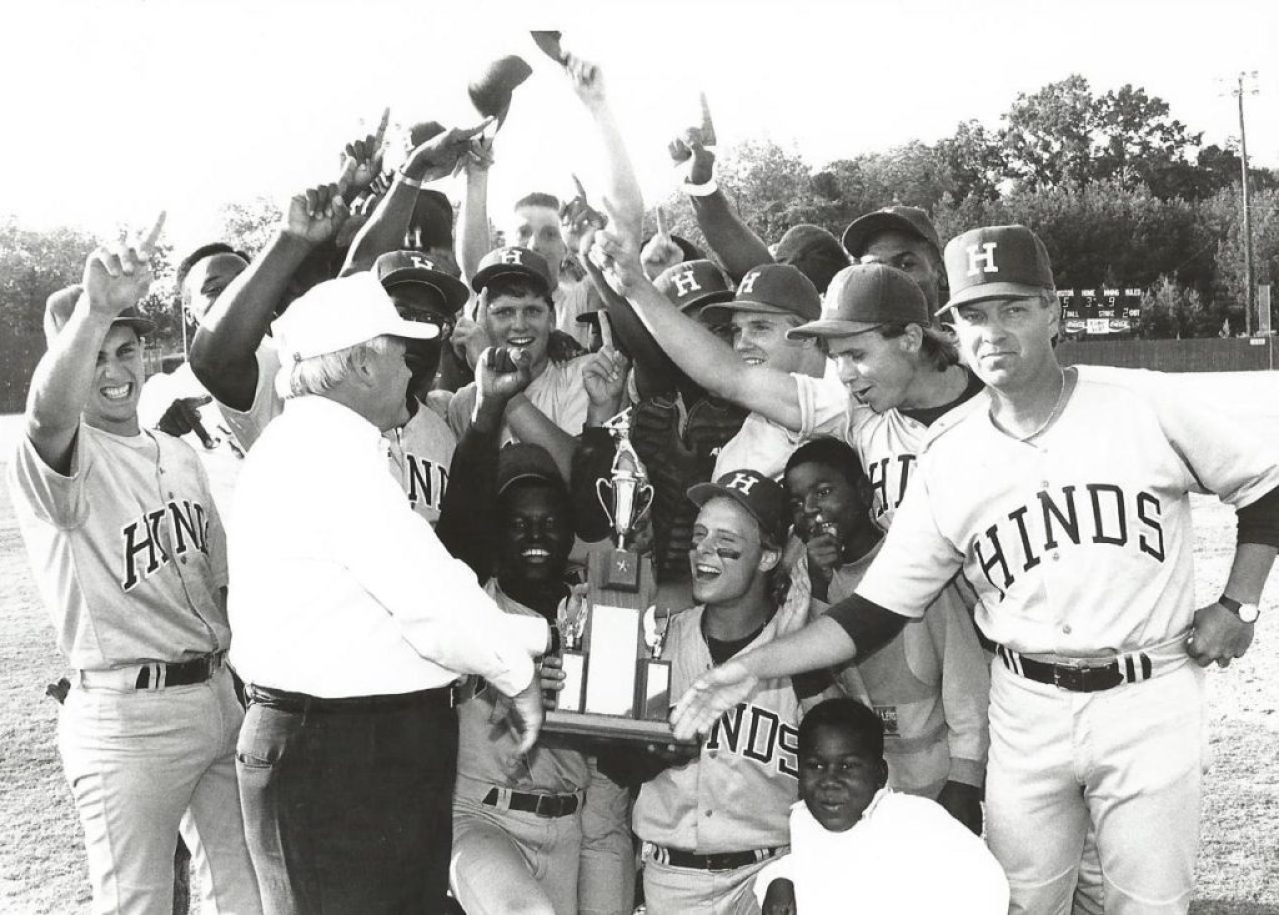Hinds and Utica junior college baseball teams combined in 1989 to form a Hinds team that made Mississippi history.