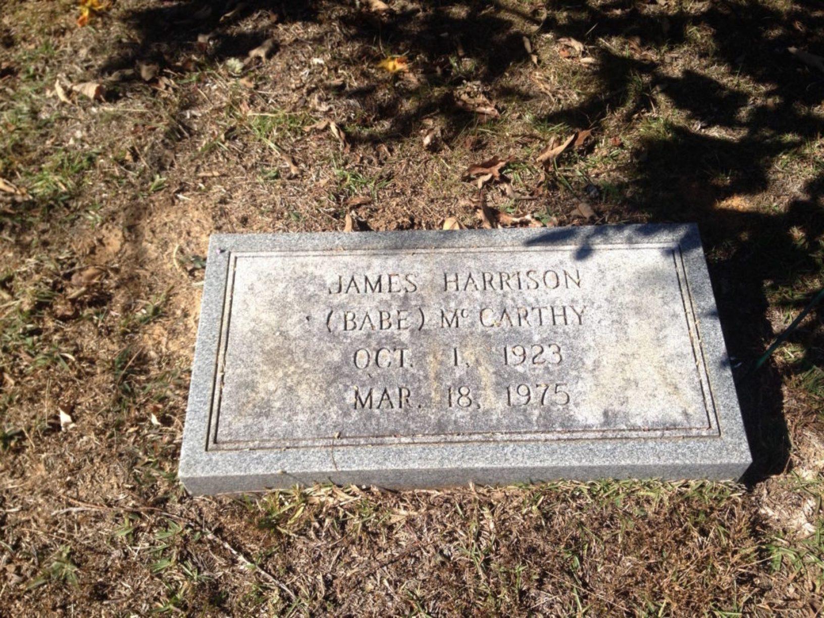 Babe grave