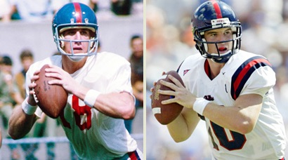 Archie and Eli Manning both had Egg Bowl moments.