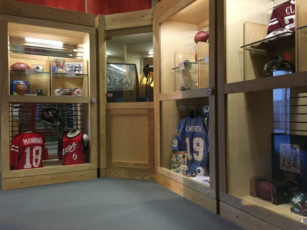 Our new museum store offers certified autographed memorabilia from some of Mississippi's greatest sports stars.
