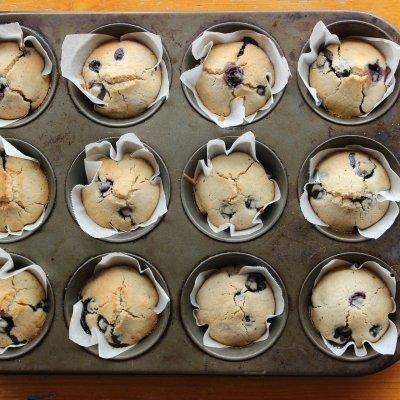 High-Protein Blueberry Muffin Recipe (Gluten-Free!)