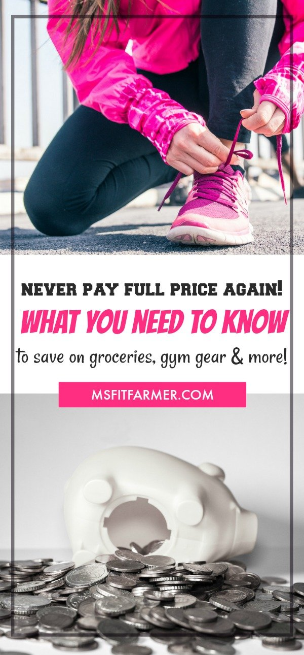Staying Healthy on a Tight Budget | Insanely Easy Ways to Save on Gym Memberships, Groceries, and More! | Find more Health & Fitness tips at https://msfitfarmer.com