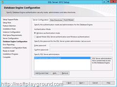 Database-Engine-Configuration