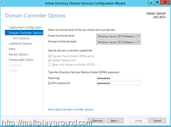 Domain-Controller-Options