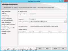 Instance-Configuration