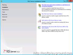 SQL-Installation-Center---Installation