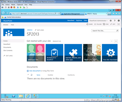 SharePoint-2013---SP2013-Site-Colleciton