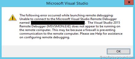 Azure Remote Debugging
