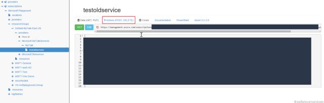 Azure BizTalk Service Azure Resource Manager