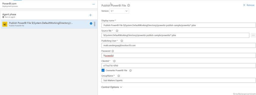 VSTS PowerBI Extension