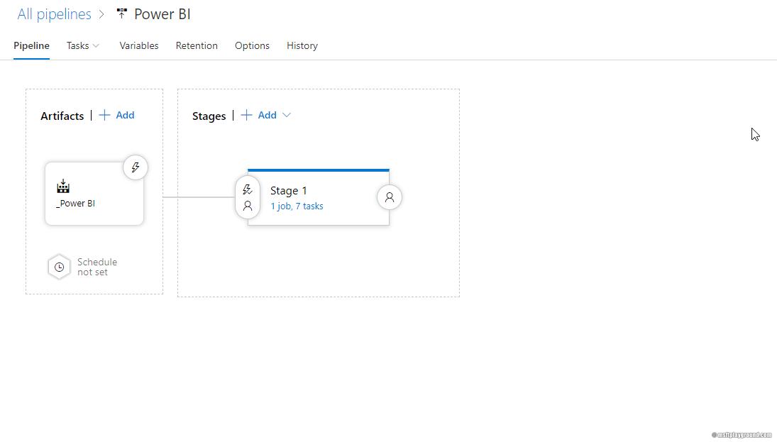 Administrating and publishing Power BI resources via Azure DevOps