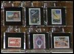 Meteorite stamps