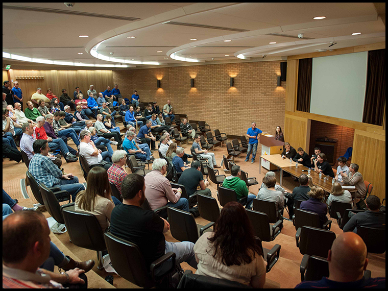 A full house :-) (copyright Nicolette Wells for the Knowledge Observatory)