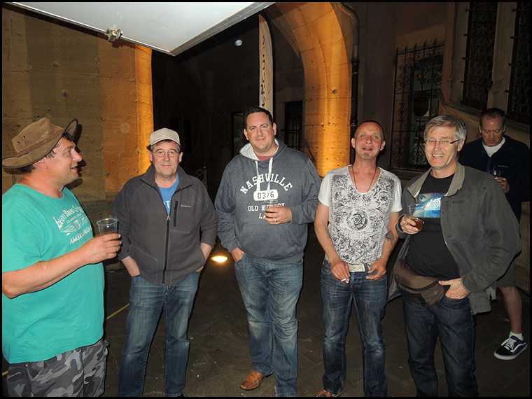 Marc, Peter, Luther, Andries and Graham.