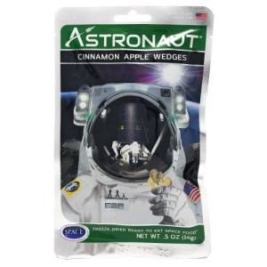 Astronaut food cinammon apple wedges 1