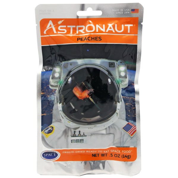 Astronaut food peaches 1